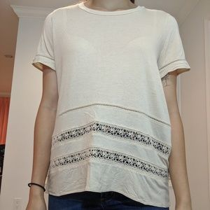 Wilfred Crochet Tshirt